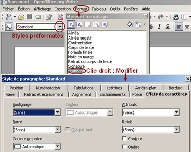 B2i c31 - Comment faire un organigramme sur open office writer ...